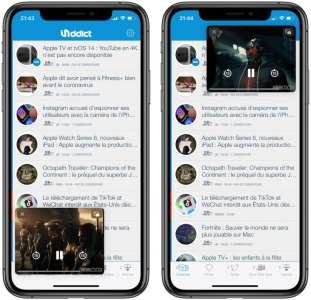 YouTube iOS active les vidéos en Picture-in-Picture (PiP)