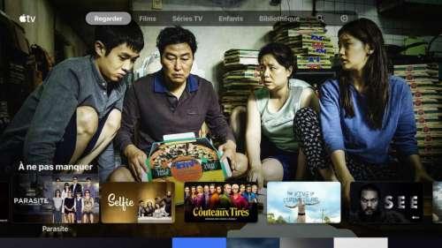 Des films se jouent sans son dans l'application Apple TV