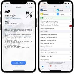Jailbreak iOS 14 : Unc0ver 6.2.0 est disponible avec des améliorations majeures