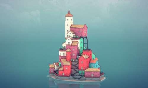 Townscaper : bâtissez votre cité de rêve du bout des doigts (sortie App Store)