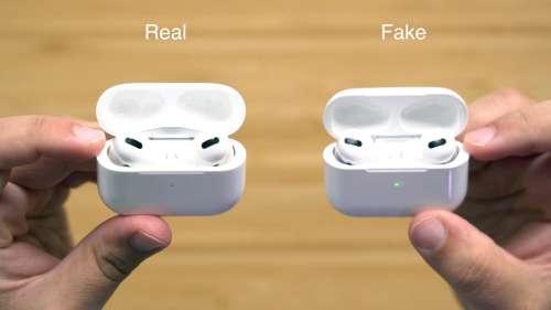 Les faux AirPods représentent un manque à gagner de 3,2 milliards de dollars pour Apple