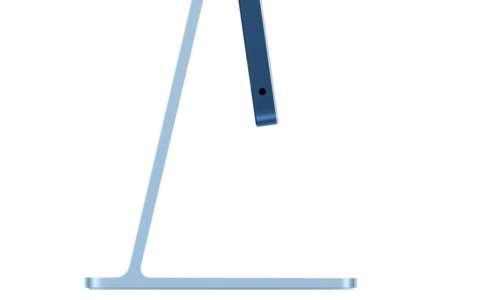 iMac M1 : la prise jack est sur le côté à cause de la finesse