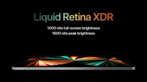 [Keynote] iPad Pro 2021 : processeur M1, 2 To de stockage, Thunderbolt, 5G… et le Mini LED sur le 12,9 pouces