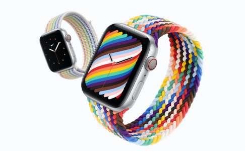 Apple lance de nouveaux bracelets Pride Edition pour l'Apple Watch