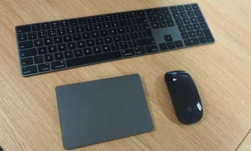 Apple cesse de vendre ses clavier, souris et trackpad en gris sidéral