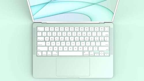 Le tout nouveau MacBook Air entrerait en production au 3e trimestre de 2022