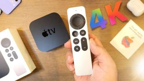 Apple met à jour le firmware de la Siri Remote, la télécommande de l'Apple TV 4K (2021)