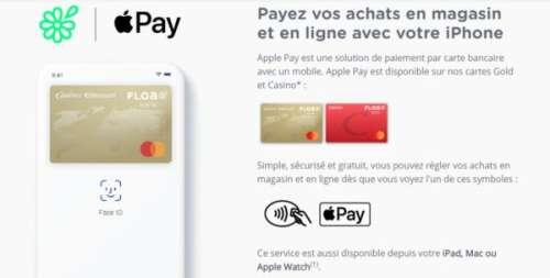 Floa Bank compatible Apple Pay : le paiement via l'iPhone, et le plein de services (crédits en ligne, assurance, BtoB)