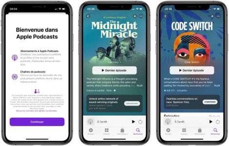 Apple Podcasts : les abonnements sont disponibles