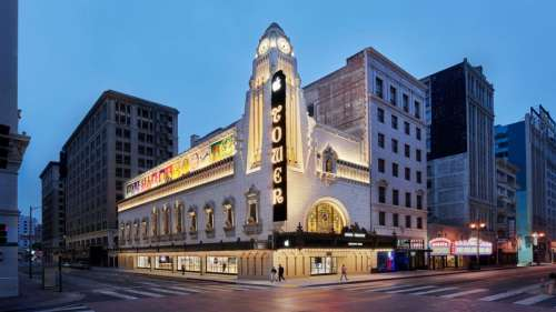 Apple partage des photos de l'Apple Store au célèbre Tower Theatre à Los Angeles