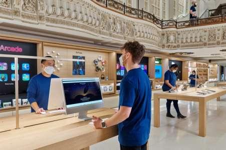 Apple verse un bonus de 1 000 dollars aux employés des Apple Store