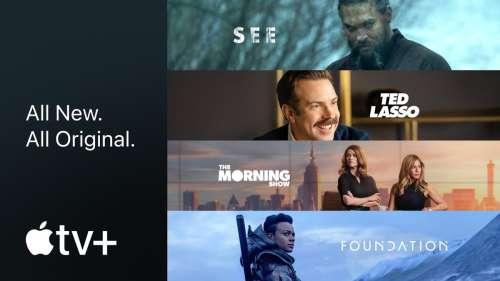 Apple TV+ dévoile un aperçu de ses prochaines séries : Foundation, saison 2 de Ted Lasso,…