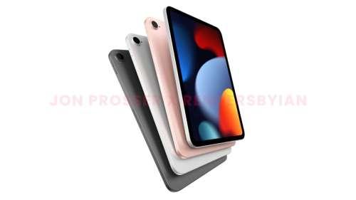 L'iPad mini 6 aurait un écran de 8,3 pouces