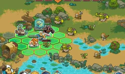Legends of Kingdom Rush : le nouveau tactical-RPG Roguelike du studio Ironhide (sortie Apple Arcade)