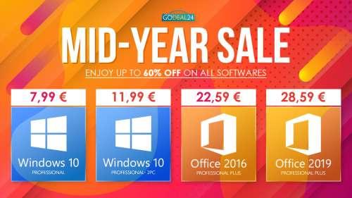 [#BonPlan] Parallels Desktop 16 Pro Edition à 49,99€, Windows 10 pro à 7,99€, Ccleaner Pro à 19,99€,…