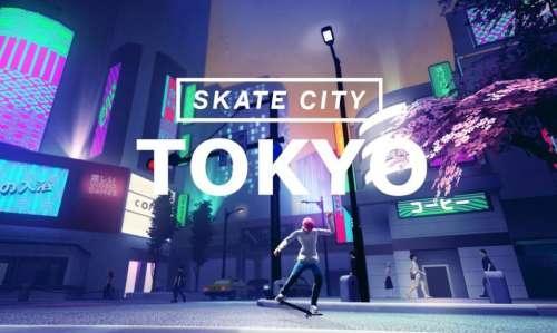 Skate City (Apple Arcade) : le jeu de skateboard gagne un niveau Tokyo pour fêter l'arrivée des J.O
