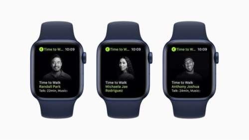 Apple Watch Series 7 : un rappel «Time to Run» pour pousser l'utilisateur Fitness+ à courir