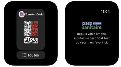 TousAntiCovid : le Pass Sanitaire s'affiche aussi sur l'Apple Watch !
