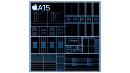 La puce A15 de l'iPad mini 6 est moins performante que l'A15 de l'iPhone 13