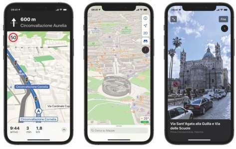 Apple Plans déploie les nouvelles cartes en Italie… et toujours pas en France