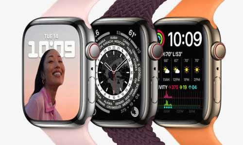 Apple Watch Series 7 : la livraison passe déjà à novembre