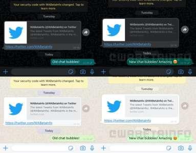 WhatsApp va changer l'affichage des messages et ajouter des réactions