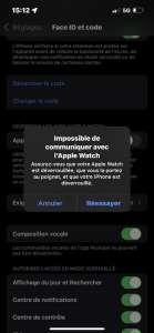 iPhone 13 : un bug empêche le déverrouillage avec l'Apple Watch