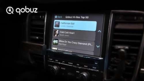 Qobuz améliore le support de CarPlay d'Apple en ajoutant le streaming