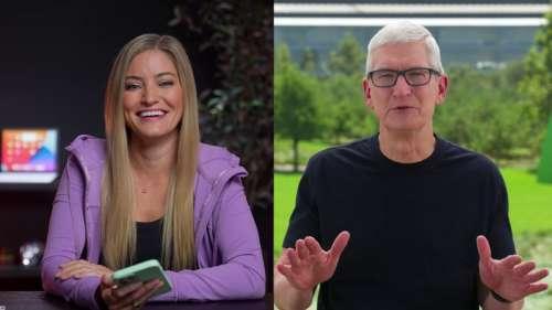 Tim Cook parle de l'iPhone 13, l'iPad mini 6 et plus dans une interview
