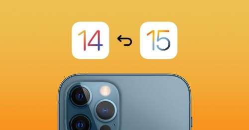L'adoption d'iOS 15 est inférieure à celle d'iOS 14 au lancement