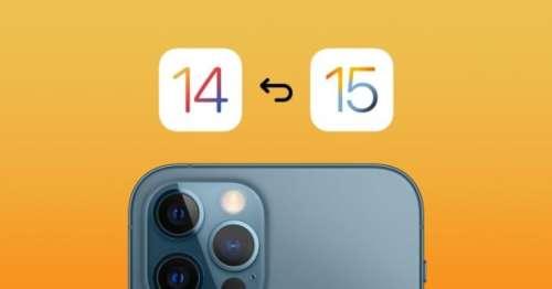 Mise à jour : Apple laisse le choix entre iOS 14.8 et iOS 15