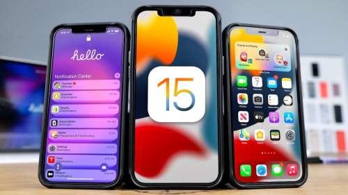 iOS 15.1 : la bêta publique est disponible