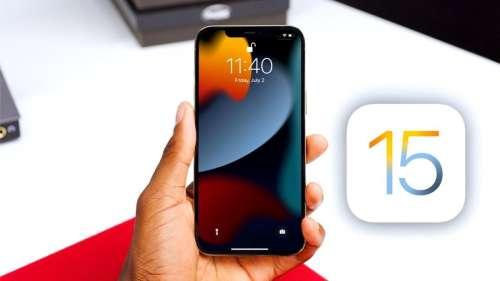 iOS 15.1 sera disponible la semaine prochaine