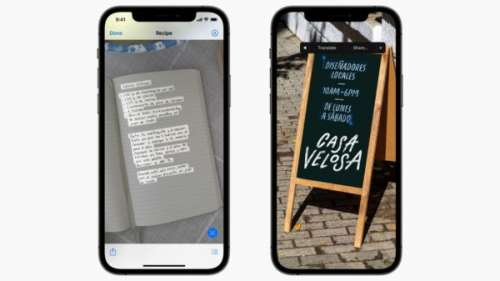 iOS 15 : Texte en direct fonctionne aussi sur les captures d'écran de l'iPhone