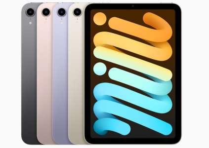 L'iPad mini 6 passe à 4 Go de RAM, l'iPad 9 stagne à 3 Go