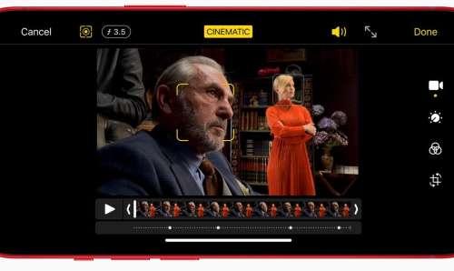 iPhone 13 : le mode Cinematic présenté en trois vidéos