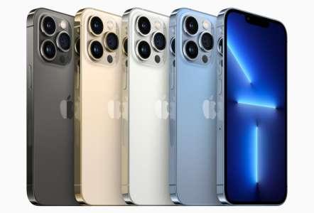 iPhone 13 Pro : les coûts de production en légère hausse par rapport à l'iPhone 12 Pro