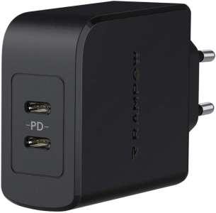 [#BonPlan] Chargeur avec 2 ports USB-C (2 x 18w) à 11,49€ (Power Delivery)