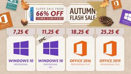 [#BonPlan] Windows 10 pro à 7,25€, BetterZip 5 à 14,99€, Permute 3 pour Mac à 13,99€, BetterZip 5 pour Mac à 14,99€ ,MacBooster 8 à 13,99€,…