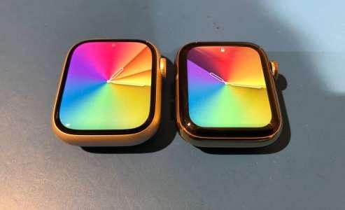 L'Apple Watch Series 7 est déjà arrivée chez certains clients