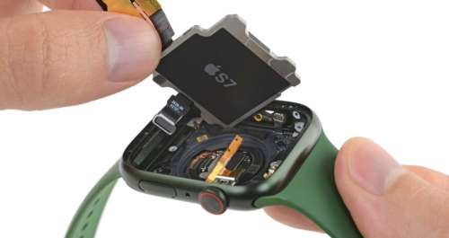 Démontage de l'Apple Watch Series 7 : des infos sur la batterie et l'écran