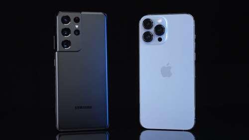 Comparatif : l'iPhone 13 Pro Max bat le Galaxy S21 Ultra en autonomie et performance