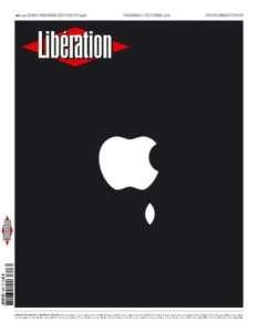 Steve Jobs : les coulisses de la célèbre une de Libé du 7 octobre 2011
