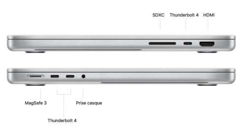 MacBook Pro M1 Pro/Max : le port HDMI est 2.0 et non 2.1
