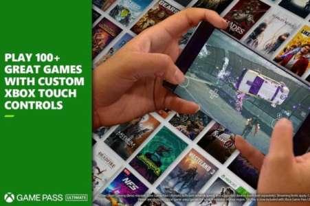 Xbox Game Pass : plus de cent jeux peuvent désormais être joués directement sur l'écran du smartphone