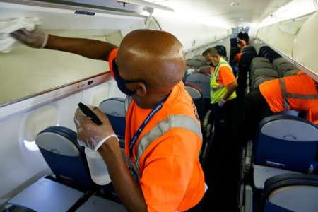 See for Yourself: How Airplanes Are Cleaned Today