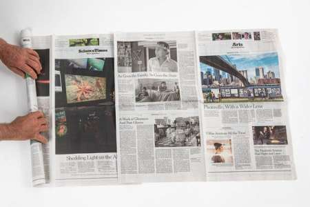 Use Your Newspaper to Make a Flibber (A What?)