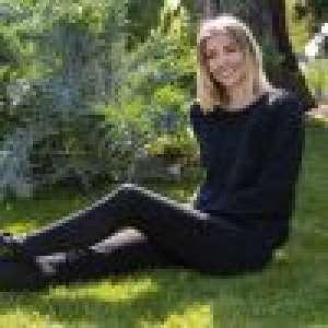 Alexandra Rosenfeld : Chasse aux oeufs de Pâques avec sa fille Ava et Imany