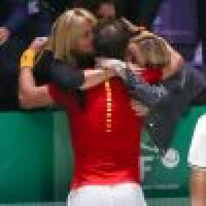 Rafael Nadal gagnant : étreintes avec son épouse et les autres femmes de sa vie