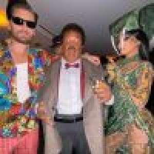 Kim Kardashian, son Halloween grandiose : Jaden Smith malade, The Weeknd en Docteur Dolittle